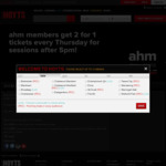 Hoyts: 2-for-1 Tickets Every Thursday After 5pm for AHM Members eg. LUX $33.60
