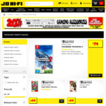 FIFA 18 $39, Just Dance 2017 $29, LEGO Worlds $39, LA Noire $59, for Nintendo Switch @ JB Hi-Fi