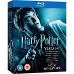 Harry Potter Collection - Years 1-6 [Blu-Ray] Back to £16.99 Again