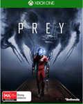 Prey $19 PS4/XB1 - Instore Only @ Big W