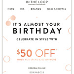 $50 off Purchases over $250 @ Sunglass Hut