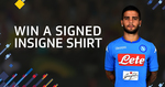 Win an Insigne-Signed SSC Napoli Jersey from Dugout Limited