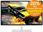 "AOC Q3279VWF 32"" Gaming Monitor $279.20 Delivered @ PC Byte & Shopping Express eBay"