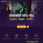 [PC] Shadowrun Triple Pack - $10 USD (~ $12.70 AUD, Was $49.99 USD) @ Chrono.gg