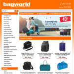 Extra $5 off Any Order over $49.95 @ Bagworld