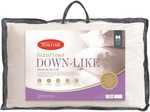 Tontine Luxurious Down-Like Pillow $10 (Was $39) [C&C; Limited Stock] @ Big W