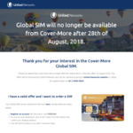 Free Cover-More / United Networks Global SIM