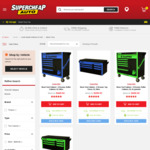 "50% off Toolpro 42"" Neon Tool Cabinet $449.50, Neon Top Chest $299.50 - Free C&C or + Postage @ Supercheap Auto"
