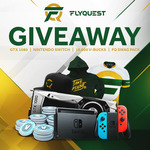 Win an NVIDIA GTX 1080, Nintendo Switch or 10K Fortnite V-BUCKS & FlyQuest Swag Pack from FlyQuest Sports