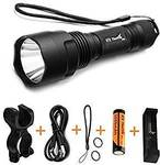Thorfire C8S Flashlight with 18650 Battery and Charger $27.99 + Delivery (Free with Prime/ $49 Spend) @ Thorfire Amazon AU