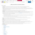 20% off Selected Sellers & 20% off Futu Online @ eBay