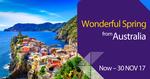 Europe One Way from Perth $468, Sydney $519, Brisbane $522, Melbourne $563  @ Thai Airways