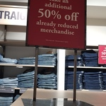 [NSW] 50% off Already Reduced Prices @ Levi's Outlet (Birkenhead Point)