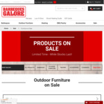 Up to 25% off Selected Outdoor Furniture: Jette 9 Piece Dining $1399 (Save $400) @ Barbeques Galore