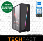 Gaming PC Deals: i3 8100 / GTX 1060 6GB / 120GB SSD / 8GB DDR4 RAM / 550W PSU with RGB Case: $737.10 Delivered @ TechFast eBay