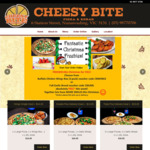 [VIC] Free Buffalo Chicken Wings Box or Garlic Bread with $15+ Orders @ Cheesy Bite  (Nunawading)