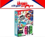 [Switch, Pre-Order] Super Mario Party + Joy-Con Controller Bundle - $135.96 Delivered @ City of Games eBay