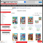[Wii U] Pokken Tournament $13.50, Splatoon $14.50, Donkey Kong TF $11.50 and More + Delivery (Free C&C) @ The Gamesmen