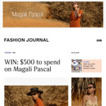 Win a $500 Magali Pascal Voucher from Fashion Journal