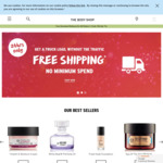 Free Shipping and 50% off Second Gift @ The Body Shop