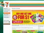 7-Eleven BOGOFAD Offers (Buy One Get One for a Dollar)