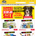 20-30% off Sale (Selected Products) @ My Pet Warehouse