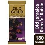 ½ Price Cadbury Old Gold Jamaican Rum and Raisin Dark Chocolate Block - 180g - $2.40 @ Coles