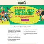 Free Zoo Victoria Membership for Kids Born between 1 Jan 2013 - 30 April 2014