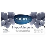 Sorbent Hypo Allergenic White Facial Tissues - Box of 200 $1.25 @ Coles