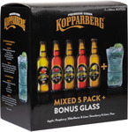 Kopparberg Mixed Cider Gift Pack & Glass $9.88 (Was $25.99) Inc 5 Ciders + Glass @ Dan Murphy's
