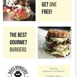 [ACT] Buy One Get Free Burger for Defence Staff @ Boss Burger Canberra