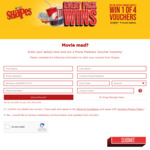 Receive a BOGOF Movie Voucher with Purchase of Arnott's Shapes @ Arnott's