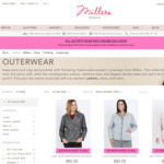 All Winter Jackets and Coats $18 (With Code) or $14 (For New Members) + Free Delivery @ Millers