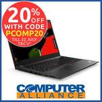 Lenovo ThinkPad X1 Yoga G3 $1,116, X1 Carbon G6 1356 + $15 Delivery ($0 eBay Plus) @ Computer Alliance eBay