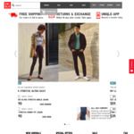 Free Shipping Today (6/8) @ Uniqlo