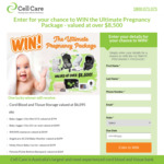 Win a Pregnancy Package Worth $8,659 from Cell Care Australia