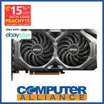 [eBay Plus] MSI Radeon RX5700 8GB MECH OC $560.15 Delivered @ Computer Alliance eBay