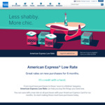 American Express 3.99% Interest for 6 Months on New Purchases