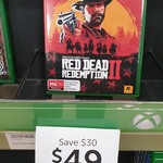 [PS4, XB1] Red Dead Redemption II $49 + Delivery (Free C&C) @ Target