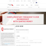 Free Qantas Frequent Flyer Membership via Qantas Money