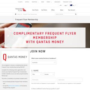 Free Qantas Frequent Flyer Membership via Qantas Money