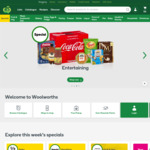 $12 off $250+ Spend @ Woolworths Online