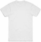 Men's White T-Shirt with Custom Printing - S - 2XL $8.99 + Delivery @ GOOGOOBARRA