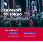 Win Return Business Class Flights or 1 of 6 Return Economy Flights for 2 to Japan from Virgin