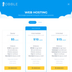 Lifetime 50% off Australian Web Hosting $27.50 for a Year ($2.50/Month) @ Obble