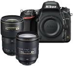 Nikon D750 Kit w/ AF-S 24-120mm f4G VR IF & 16-35mm f/4G VR Lenses $3435.53 + 2000 Qantas Points @ Qantas Store