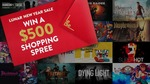 Win a $500 Shopping Spree from Fanatical