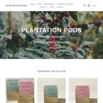 30% off Nespresso Compatible Coffee Pods (Biodegradable & Compostable) @ Plantation Pods