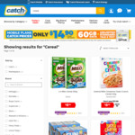 USA Cereals - Cinnamon Toast Crunch, Lucky Charms, Reese's Puffs - $8.99 + Post (Free with Club Catch & $45+ Spend) @ Catch