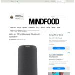 Win an EFM Havana Bluetooth Speaker Worth $249.95 from MiNDFOOD